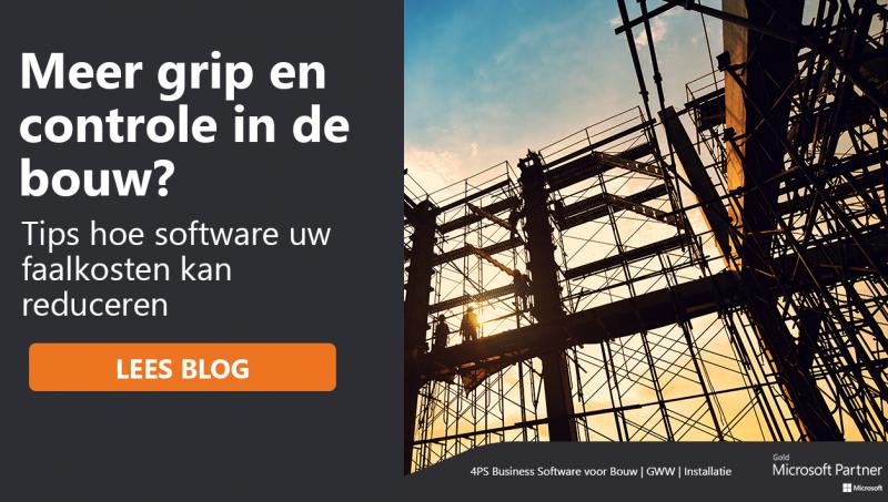 Faalkosten reduceren in de bouw