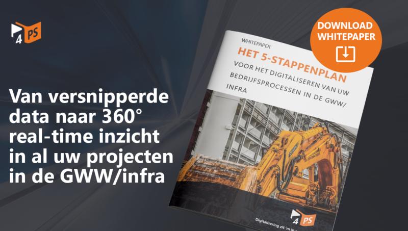 Het 5-stappenplan voor de GWW/infra