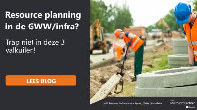 Resource planning in de GWW/infra?