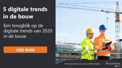 Terugblik op 4 digitale trends in de bouw