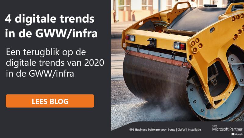 Digitale trends in de GWW/infra in 2020