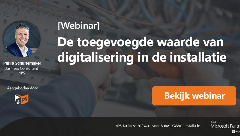 Digitalisering in de installatietechniek