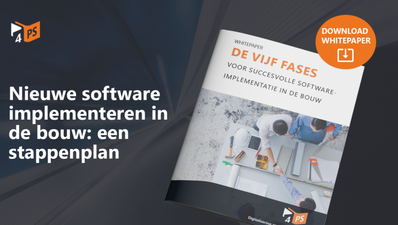 Nieuwe software in 5 fases