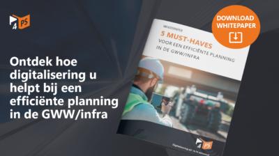 Efficiënt plannen in de GWW/infra
