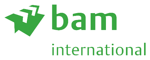Logo van BAM International