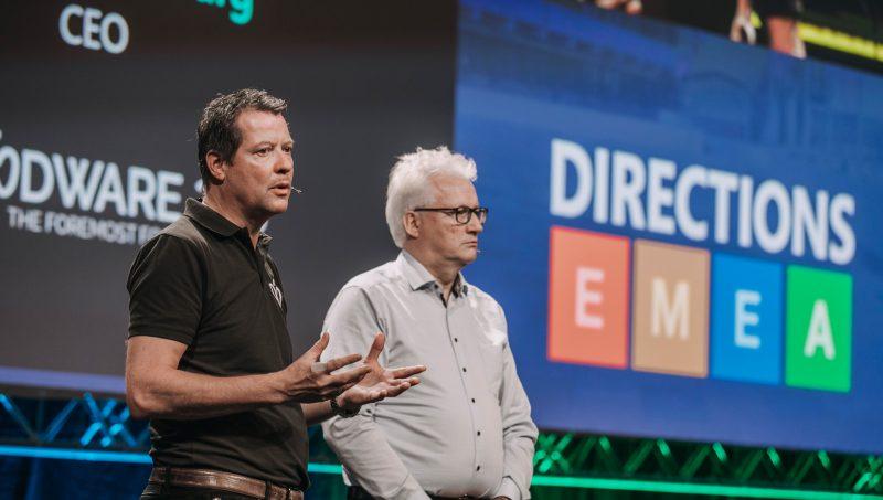 4PS op virtuele podium Microsoft Directions