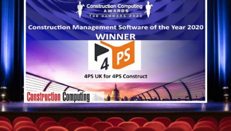 4PS UK wint Construction Award