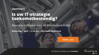 Seminar business software installatie