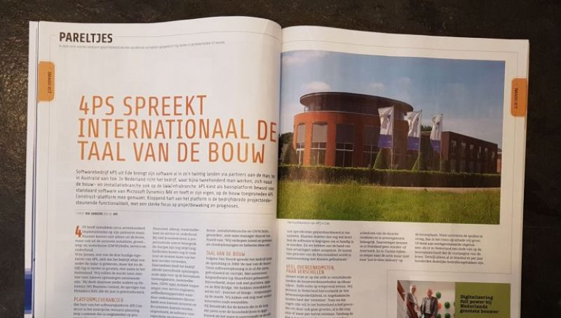 4PS 'pareltje' in nieuwste Computable magazine