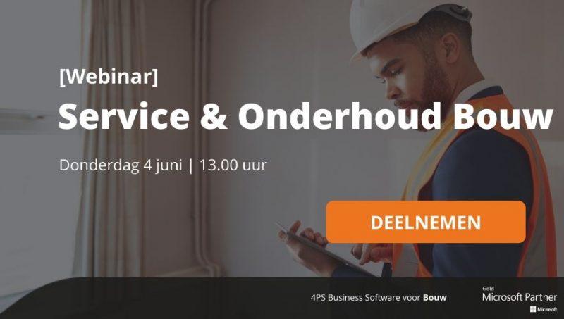 Webinar Service & Onderhoud Bouw