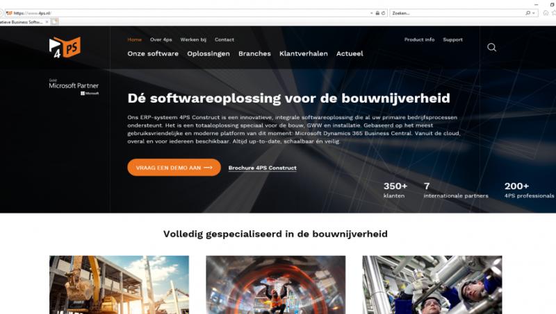 4PS focust met nieuwe website op duurzame relaties